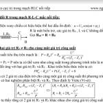 Bài toán cực trị trong mạch RLC nối tiếp